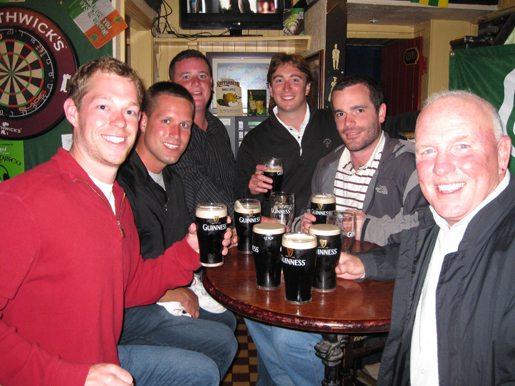 Charlie Donahue June golf trip Ireland