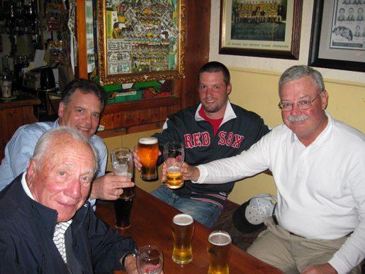 Charlie Donahue June golf vacation Ireland