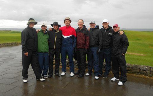 Huss group golf trip ireland