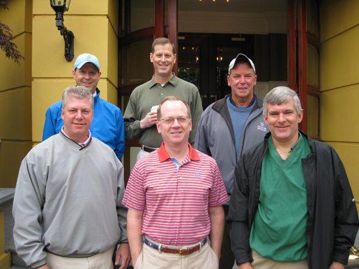 Jim Frawley May golf trip ireland