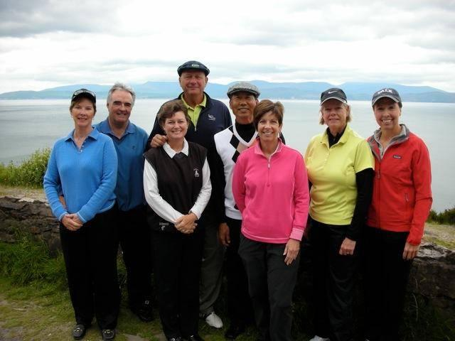 Ludden group US golf vacation ireland swing