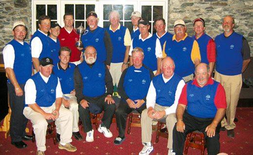 Winning US golf team