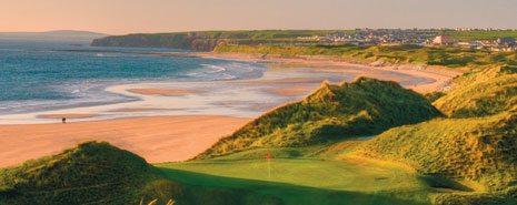 Balybunion Golf Club - Cashen Course Swing Golf Ireland - Ireland Golf Holidays