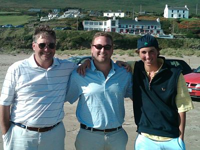 Chris Regan golf trip ireland