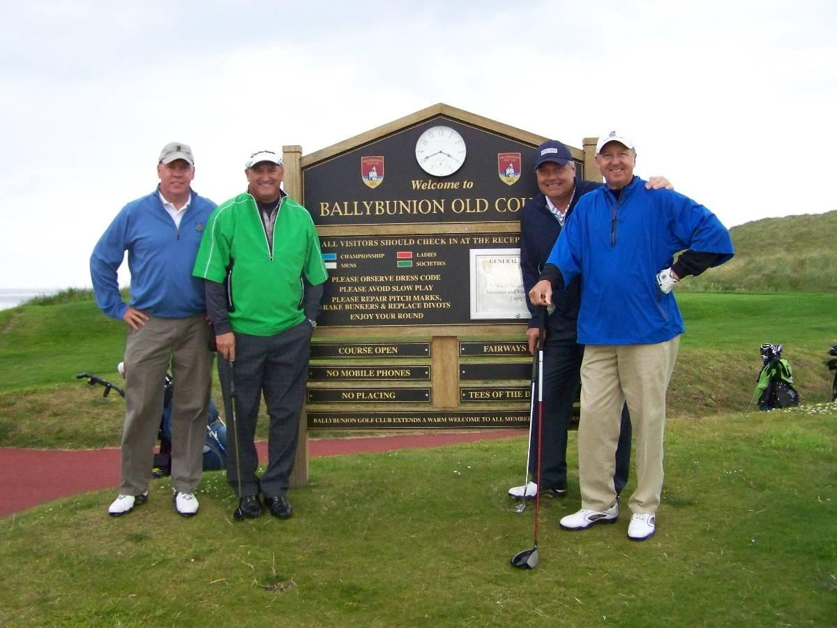 Saunders group US golf vacation ireland