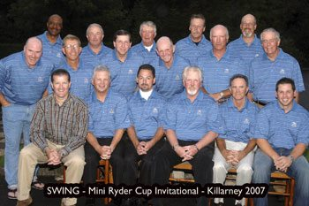 swing mini ryder cup 2007