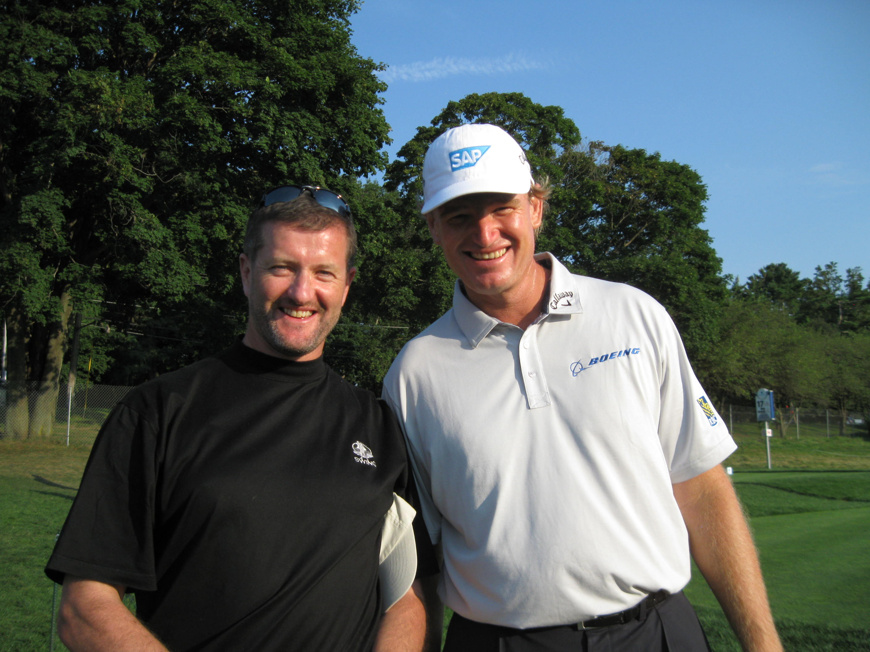 Barclays New York Ernie Els - Swing Golf Ireland - Ireland Golf Holidays