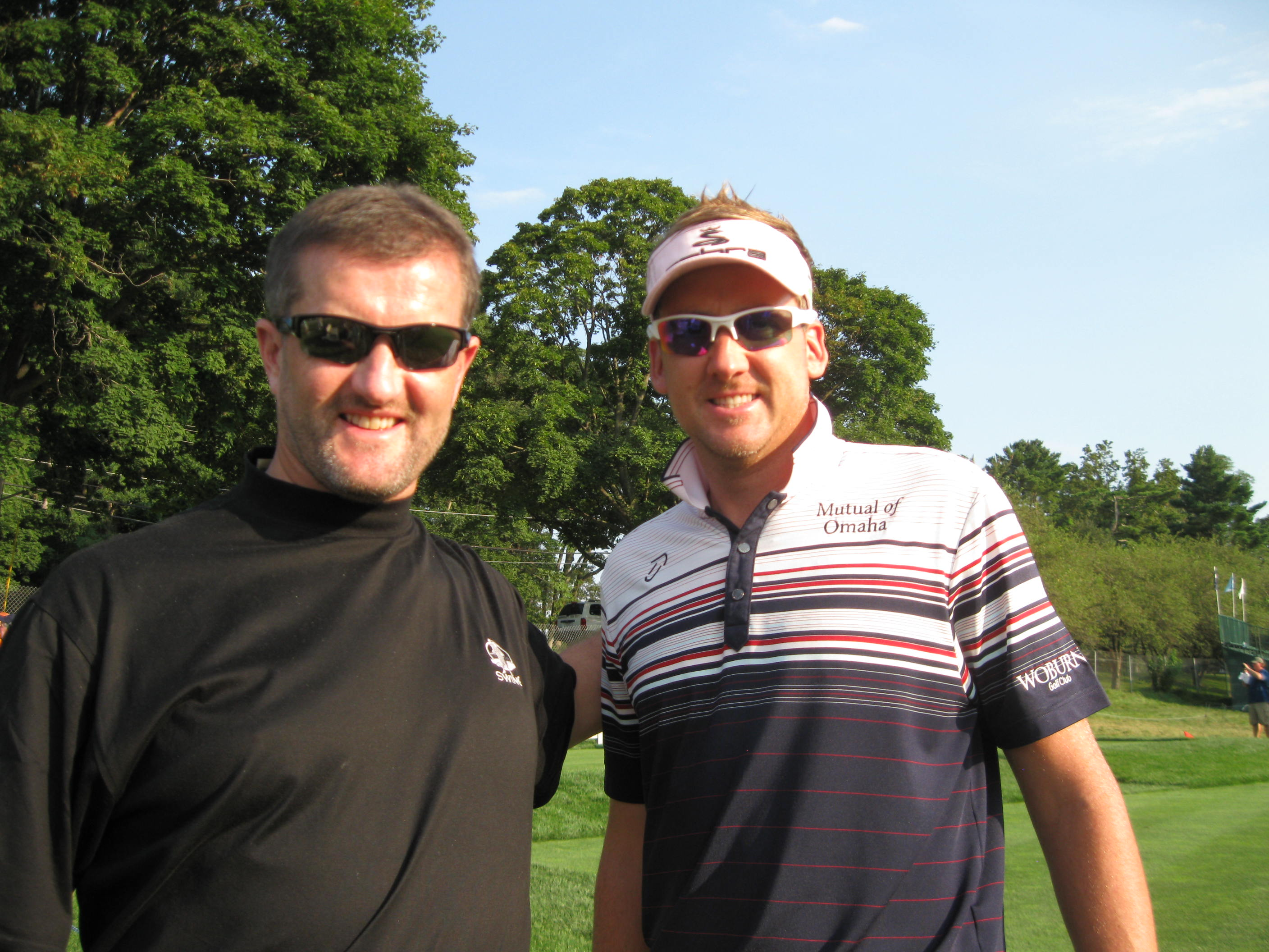 Barclays New York Ian Poulter - Swing Golf Ireland - Ireland Golf Holidays
