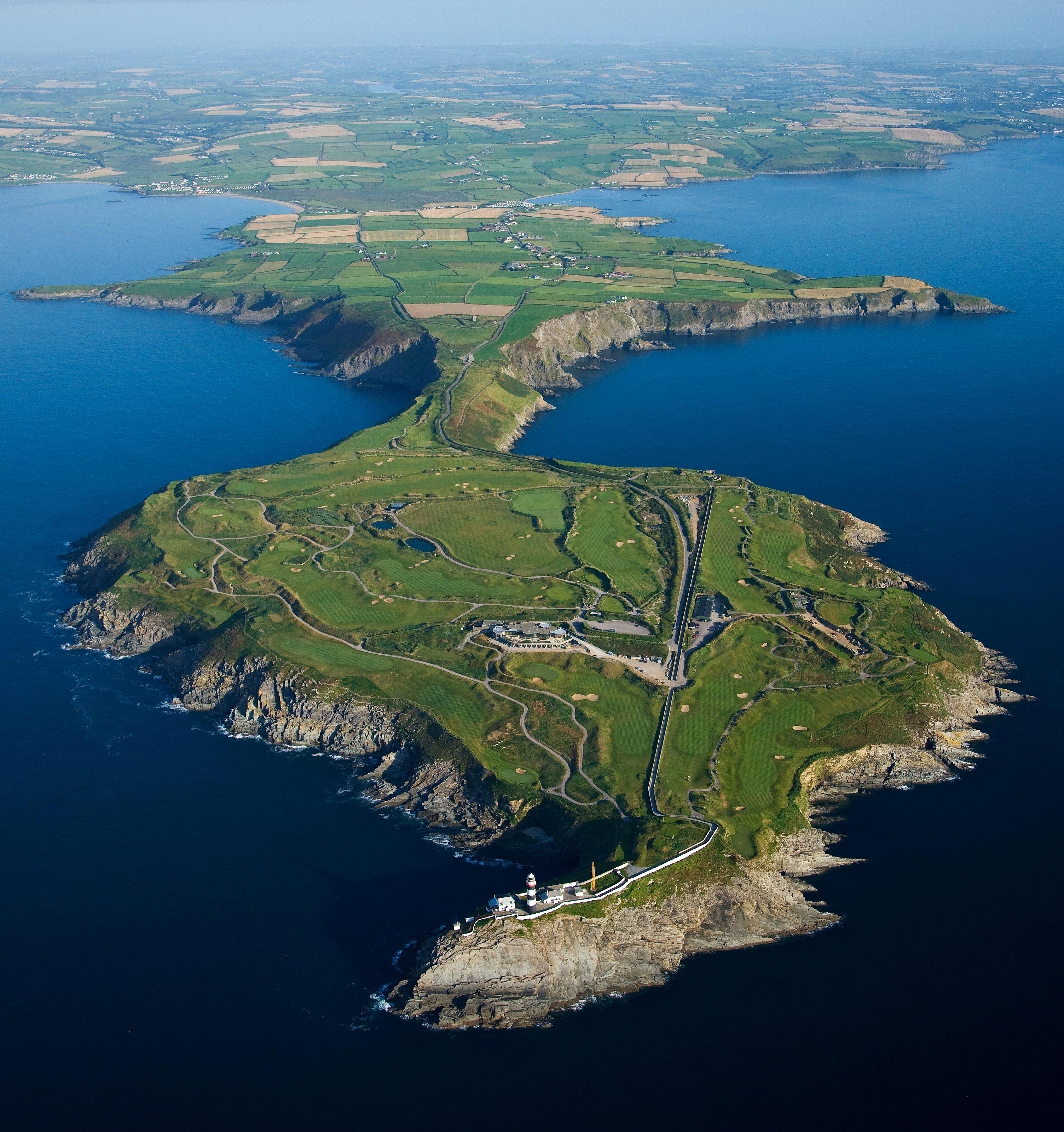 Old Head Headland Portrait - Swing Golf Ireland - Irish Golf Vacations