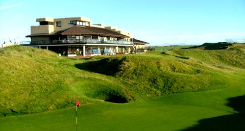 Ballybunion Clubhouse - SWING Golf Ireland - Irish Golf Holidays