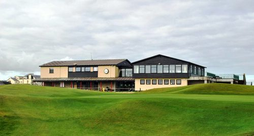 Lahinch Clubhouse - Swing Golf Ireland - Irish Golf Vacations