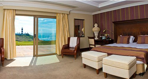 Old Head Presidental Suite - Swing Golf Ireland - Irish Golf Vacations