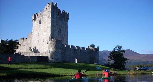 Ross Castle Killarney - SWING Golf Ireland - Irish Golf Vacations