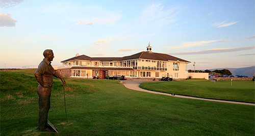 Tralee Clubhouse - SWING Golf Ireland - Irish Golf Vacations