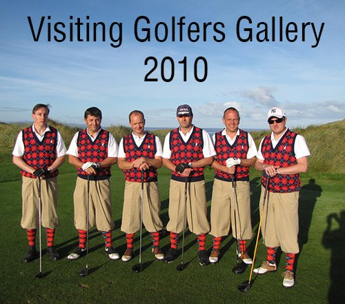 Visiting Golfers 2010
