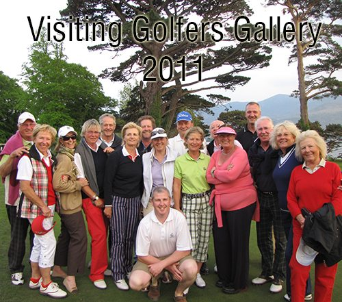 Visiting Golfers 2011