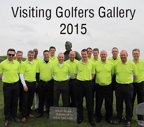 Visiting Golfers Gallery 2015