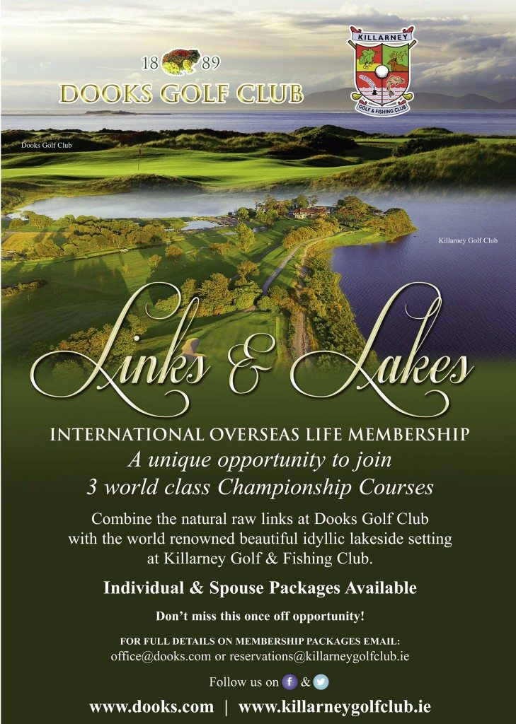 Overseas Lifetime Membership Packages at Killarney Golf and Fishing Club & Dooks Golf Links