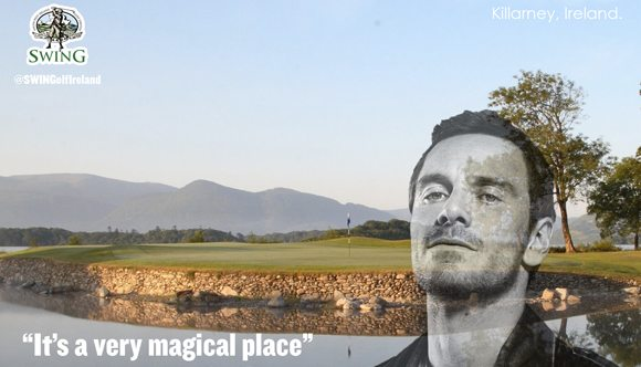 "Fassbender: Killarney is ""a very magical place."""